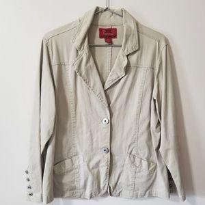Paris Blues - khaki jacket blazer